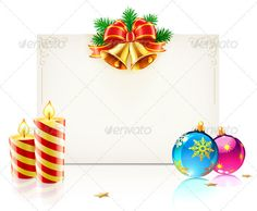 Christmas Concept  #GraphicRiver         Vector illustration of shiny Christmas frame with golden bells, Christmas decoration and funky candles.   Zip file contains fully editable EPS8 vector file and high resolution RGB Jpeg image.     Created: 26November12 GraphicsFilesIncluded: JPGImage #VectorEPS Layered: No MinimumAdobeCSVersion: CS Tags: background #ball #border #bow #candle #card #celebration #christmas #christmasdecoration #christmasornament #decor #frame #greeting #holiday…