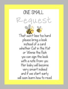 INSTANT DIGITAL FILE  Bumble Bee Baby Shower by OhBabyPrintables, $5.00