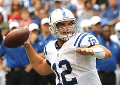 """""""Colts' rookie QB Andrew Luck talks Pro Bowl, teaming with Peyton Manning"""" Indy Star (January 24, 2013) 118 pictures in photo gallery"""