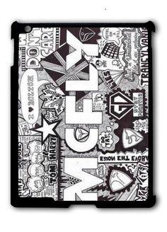 Mcfly Lyrics Ipad Case, Available For Ipad 2, Ipad 3, Ipad 4 , Ipad Mini And Ipad Air