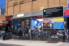 Mad Mark & Big Pun Tats Cru Graffiti Mural, South Bronx NYC, via Flickr.