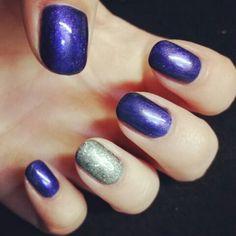 Jessica prima donna with glitter ring finger