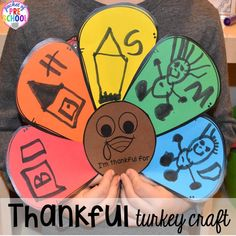 Thanksgiving and turkey themed activities and centers for preschool pre-k and kindergarten. (math literacy fine motor character and more). Fall Preschool Activities, Art Therapy Activities, Preschool Crafts, Preschool Writing, Preschool Centers, Kindergarten Classroom, Diy Thanksgiving Crafts, Thanksgiving Preschool, Kindergarten Art
