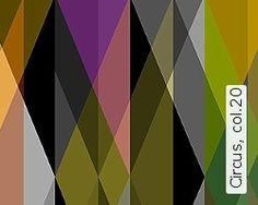 Grafische Tapeten - grafische Muster wie Kreise, Quadrate, Dreiecke, Rauten