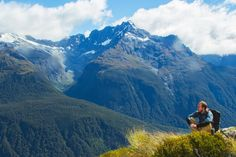 Snag views of these imposing peaks across the Hollyford Valley as you enter Fiordland National Park on day two. (Rachel Zurer)