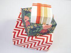 Esta caixinha de papel em origami também pode ser uma fonte de renda extra (Foto: blog.creativebug.com)