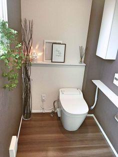 Bathroom Niche: Learn How To Choose And See Ideas With Photos - Home Fashion Trend Bathroom Niche, Bathroom Toilets, Bathroom Colors, Modern Bathroom, Small Bathroom, Neutral Bathroom, Washroom, Master Bathroom, Bathroom Ideas