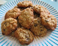 """""""Healthy"""" Oatmeal Chocolate Chip Cookies"""