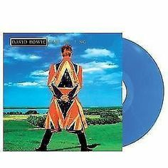 DAVID BOWIE - EARTHLING *180GRAM LIMITED, HANDNUMBERED BLUE VINYL* ! IN STOCK