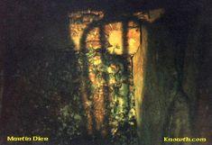 Samhain Sunrise illuminates the back of the Mound of the Hostages - Hill of Tara.
