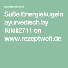 Süße Energiekugeln ayurvedisch by Kikili2711 on www.rezeptwelt.de