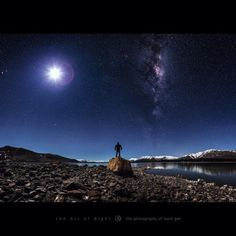 Absolutely love this photo by Mark Gee at Lake Tekapo on the South Island of New Zealand.