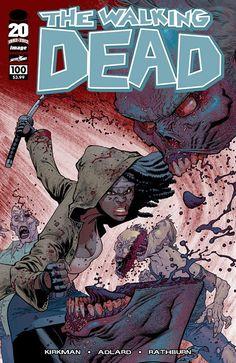 Capa Alternativa da Edição #100 de The Walking Dead