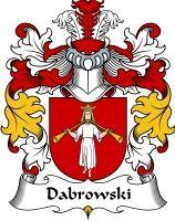 Dabrowski Coat of Arms / polish family crest #heraldry #genealogy #family reunion #family #shield #clan #Poland #polska #code of arms