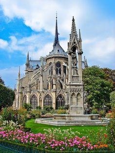 Notre-Dame de Paris- Paris, France