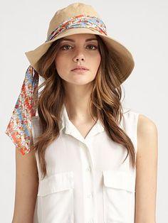 UGG Australia  Garbo Convertible Canvas Hat