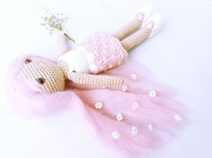 Patrón amigurumi muñecaPatrón crochet muñecaMuñeca crochet