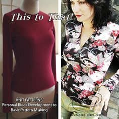 Basic #PatternMaking for KNITS, empire, princess, ruching. All in 1day.   SAT 11June #patternmaking #sydney