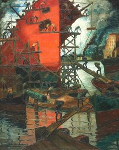 barco arreglo Arte Popular, Abstract Images, South America, San, Painting, Llamas, Boats, Landscapes, Pocket