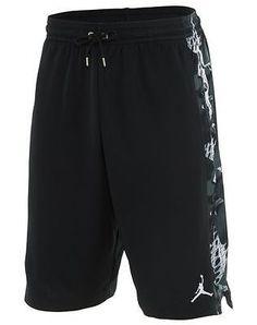 Nike Air Jordan VI 6 Retro Short Mens 687802-010 Black Basketball Shorts Size L