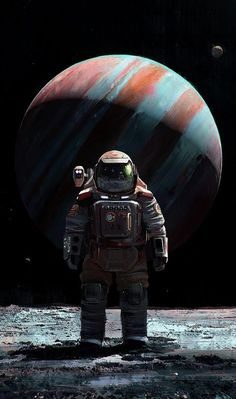 The superb science fiction and space exploration creations of Mac Rebisz, a freelance concept artist and digital illustrator based in Warsaw, Poland. Arte Sci Fi, Sci Fi Art, Space Artwork, Space Odity, Space Pics, Astronauts In Space, Alien Worlds, Futuristic Art, Sci Fi Characters