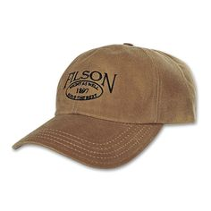 Men S Hunting Hat Waxed Canvas And Oil Cloth Baseball