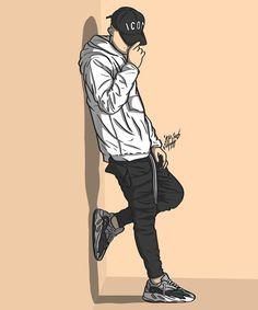 Cartoon Wallpaper Hd, Pop Art Wallpaper, Graffiti Wallpaper, Boys Wallpaper, Dope Cartoon Art, Swag Cartoon, Rapper Art, Dope Wallpapers, Cute Love Cartoons