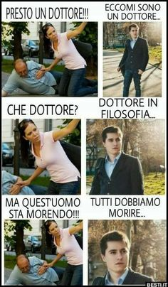 Funny Chat, Wtf Funny, Hilarious, Funny Grumpy Cat Memes, Funny Jokes, Humour Intelligent, Funny Photos, Funny Images, Italian Memes