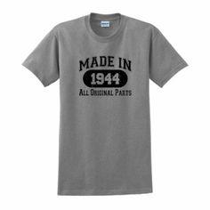 Made in 1944 70th Birthday T-Shirt: Birthday gift