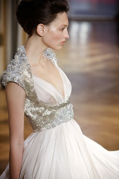 Turkish fashion designer Dilek Hanif presents her Haute Couture Spring-Summer 2010 collection