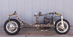 Rocketumblr — Homebuilt Recumbent Motorcycle Racer