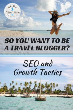 SO YOU WANT TO BE A TRAVEL BLOGGER? All about SEO, guest blogging, and how to really connect with your audience through your travel blog. From Kristin Addis of http://BeMyTravelMuse.com