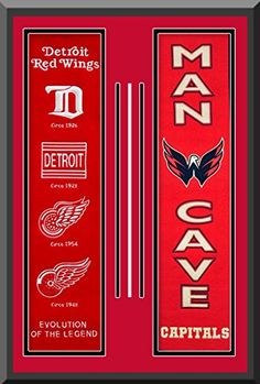 Detroit Red Wings Heritage And Man Cave Banners Double Matted Framed Awesome & Beautiful-Must For A Championship Team Fan! Art and More, Davenport, IA http://www.amazon.com/dp/B00LWUYVNO/ref=cm_sw_r_pi_dp_7.OCub0F34Y36