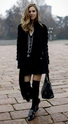 Derbie chaussette haute Automne Hiver, Chaussettes Hautes, Derbies, Tenue,  Couture, Genou 109514657c8