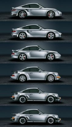 Porsche 911 Turbo evolution. Yes please.