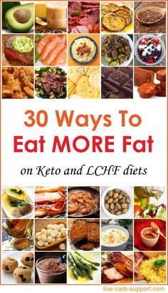 Low Carb High Fat Keto Foods List Crank Up The Fat Macro! - Keto for beginners High Fat Keto Foods, Very Low Calorie Foods, Low Carb High Fat, Best Diet Foods, Low Fat Diets, High Fat Diet, Low Gi, Healthy Diet Plans, Diet Meal Plans