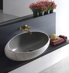 Love this modern sink. !