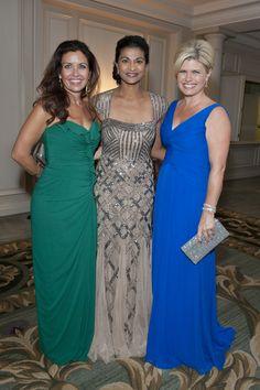 93rd Woman's Board September Gala:  (from l) Melissa Surrett, Lekshmi Nair and Andrea Thome