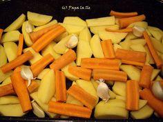 Pulpe de pui cu legume la cuptor (2)