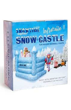 inflatable snow castle - this is a must have!