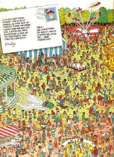martín hanford Wheres Waldo, City Photo, Searching, Thinking About You, Riddles, Book, Deserts, Wheres Wally