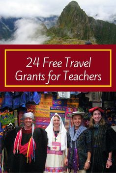 Traveling teacher - 24 Teacher Travel Opportunities for Free or Super Cheap A Great List – Traveling teacher Free Travel, Travel Tips, Travel Hacks, Budget Travel, Travel Cot, Travel Wall, Cheap Travel, Travel Advice, Travel Ideas