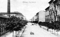 Via Eustachi #Milan (Grazie al Gruppo Sei di Città Studi se...)