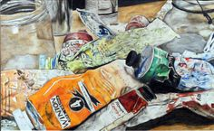 """Adeline Jackson, Peru High School, """"Color My World,"""" colored pencil drawing. Best of Show 2010 High School Drawing, Still Life Drawing, High School Art, Still Life Art, School Projects, Art Projects, Pencil Drawings, Art Drawings, Wilson Art"""