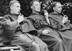 """cristianocattolico1: """" Pipes and Catholic monks. """""""