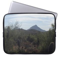 #Pretty Day In The Desert Laptop Sleeve