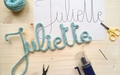 DIY - The first tutorial knitting and all the tricks to make a nice word knitting Diy Crafts To Sell, Diy Crafts For Kids, Diy Tutorial, Diy Bedroom Decor, Diy Projects, Crafty, Knitting, Etsy, Things To Sell