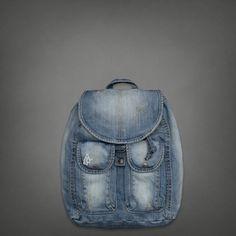 Womens Denim Backpack | #ABERCROMBIEHOT