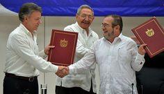 Gobierno de Colombia y las FARC sellan histórico acuerdo de cese al fuego bilateral y desarme de la guerrilla