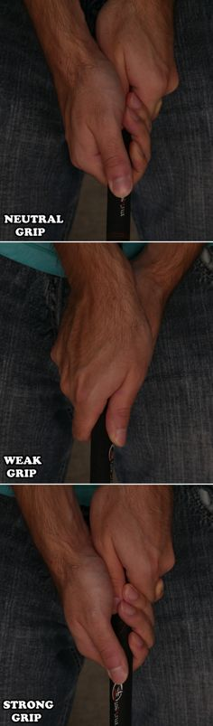 A good grip is nearly essential to playing consistently good golf. It turns out that a shocking number of swing problems can be mostly or completely fixed by a simple grip adjustment. Learn all about how to grip the club properly here: Tips And Tricks, Golf Handicap, Golf Putting Tips, Golf Chipping, Golf Videos, Tennis Tips, Tennis Rules, Golf Instruction, Golf Exercises